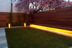 Giallo Ornamental Light Landscape Modern with Garden Wall Contemporary Outdoor Fountains and Ponds