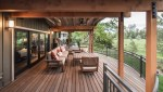 Modern Deck Railing Exterior Traditional with Window Trim Copper Fire Bowls and Pits