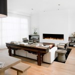 modern fireplace inserts patio contemporary with stone outdoor coffee table ottomans