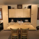 modular home office traditional with craftsman details cabinetry professionals