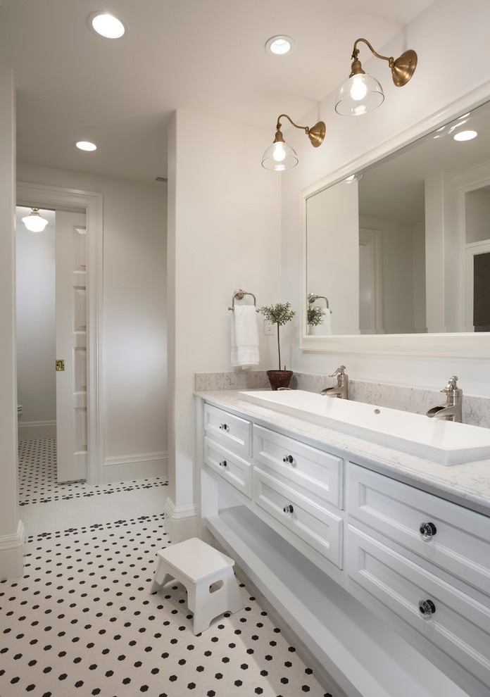 Narrow Bathroom Sinks with Wall Mounted Toilet White Crown