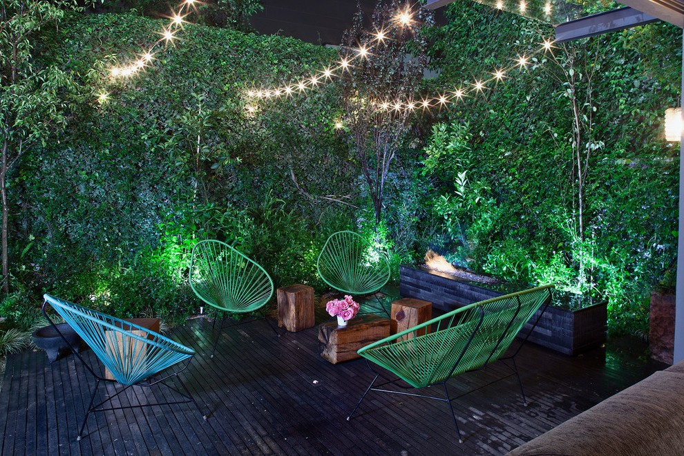 Outdoor String Lights Patio Rustic With Wood Pergola