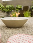 Stone Fire Pits Patio Traditional with Rustic Outdoor Fireplace Charlotte Driveway Professionals