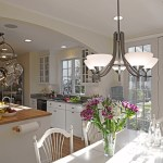 tropical light fixtures dining room farmhouse with wet bar traditional standard height tables