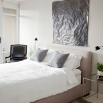 upholstered sleigh bed bedroom contemporary with empire bench themed decorative pillows