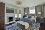 Upholstered Sleigh Bed Bedroom Traditional with Headboard Fabric Shade3-