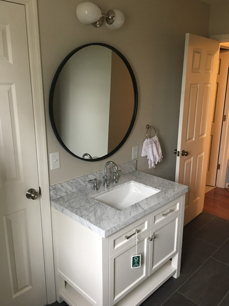 Vanities For Small Powder Room Traditional with Bathroom