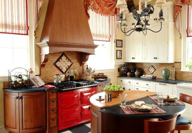 boston valance box designs with outside mount roman shades kitchen traditional and wood hood red aga