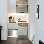 new york Studio Apartment Images with contemporary kitchen faucets and tiny city living