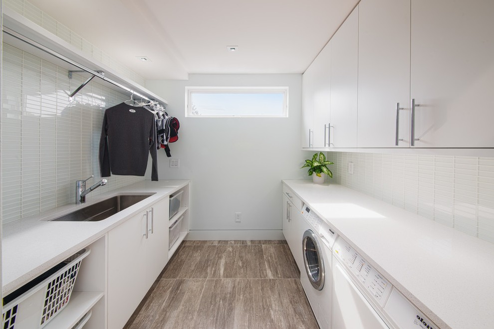 Awesome Laundry Room Cabinet With Sink Traditional
