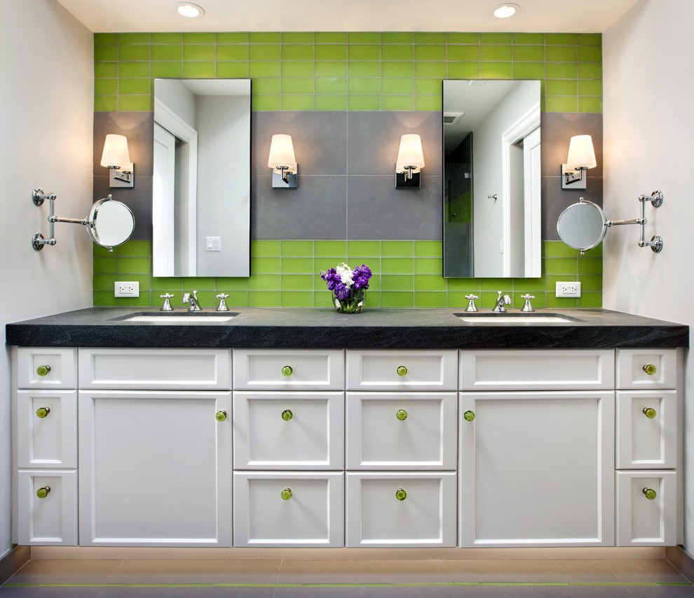 San Francisco Lowes Knobs And Pulls Bathroom Contemporary With Wall Lighting Rectangular Mirrors Symmetry