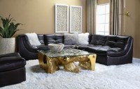 Dishy Z Gallerie Living Room Ideas with Sectional