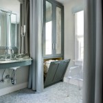 atlanta silver floor mirror with contemporary wall mirrors bathroom transitional and above sink gray drapes