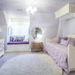 detroit audrey hepburn bedroom with traditional baby and kids products purple ceiling paisley wallpaper