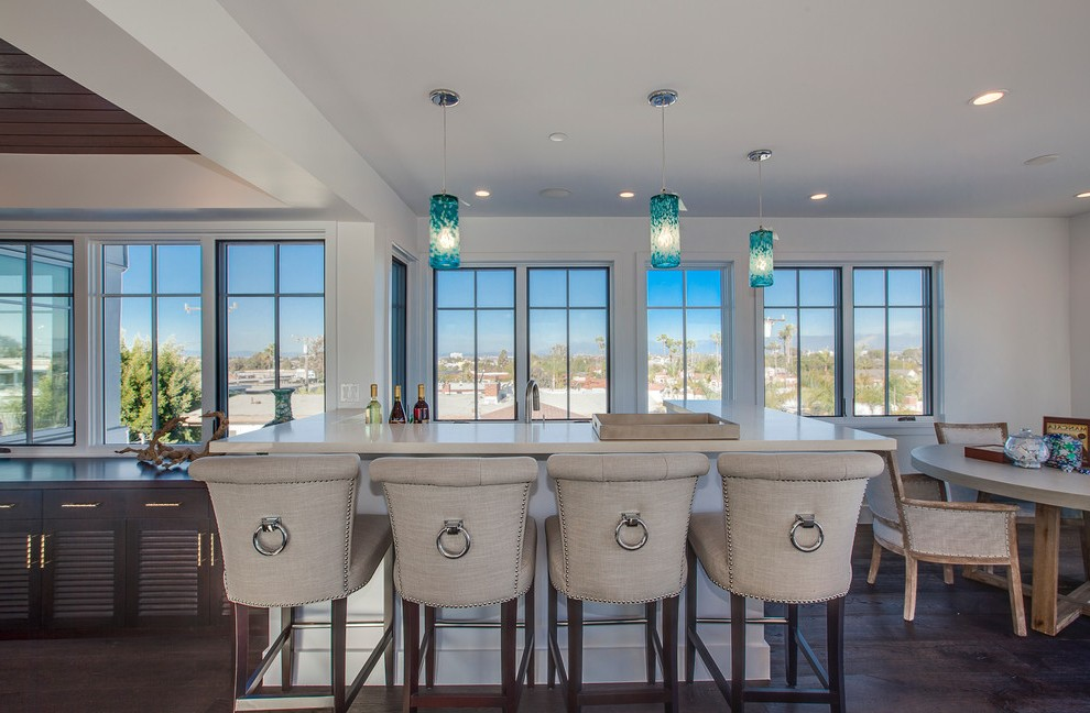 los angeles cool bar stools home beach style with house white buffets and sideboards grommet