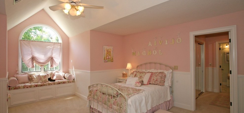 san francisco girls pink room ideas with contemporary products kids shabby-chic style and decor sf interior design
