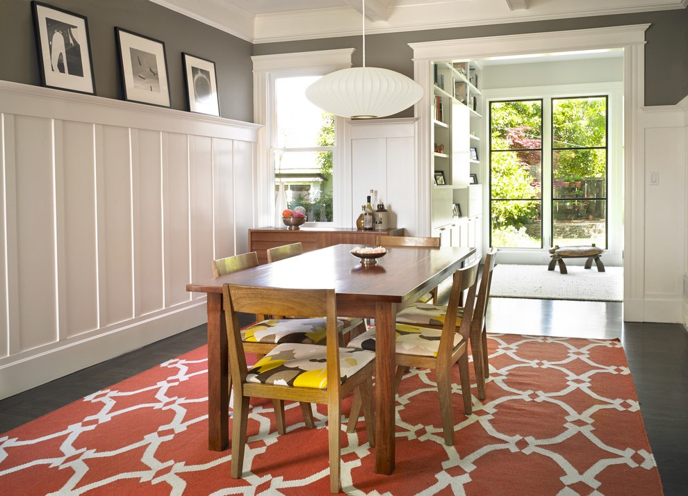 san francisco living room wainscoting ideas dining