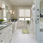 san francisco silver floor mirror with chrome towel bars bathroom contemporary and white union jack