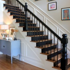 Kitchen Cabinets Manufacturers Sinks For United States Black Stair Runner Staircase Traditional ...