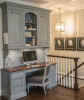 chicago small kitchen desk ideas home office traditional ...