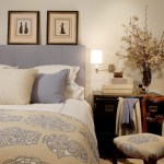 los angeles color schemes bedrooms with traditional swing arm wall lamps bedroom and floral arrangement decorative pillows