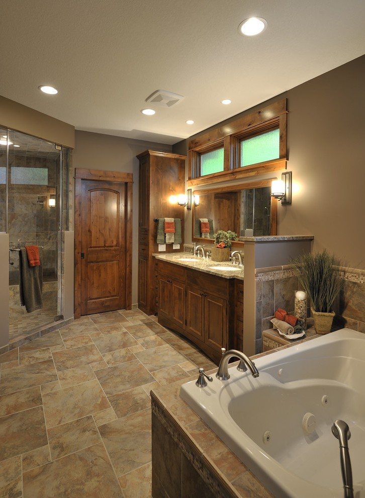 Outstanding Commercial Bathroom Design With Mirror