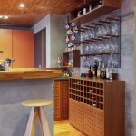 new york govino wine glasses with midcentury modern bar stools and counter home contemporary concrete island wall