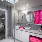 new york white bathrooms ideas with silver bathroom mirrors contemporary and recessed lights stainless steel faucet