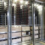 vancouver govino wine glasses with architects and building designers cellar contemporary racking system glass wall