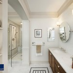 boston benjamin moore white dove with contemporary cabinet and drawer pulls bathroom traditional mosaic tile floor design