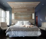 Awesome Victorias Secret Bedding Bedroom Transitional with Wood Walls French Blue Ideas and Photos