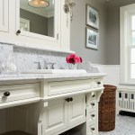 minneapolis benjamin moore white dove with wicker rattan laundry hampers bathroom traditional and
