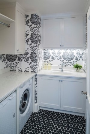 kitchen laundry contemporary damask under lighting feature countertops marble traditional georgian cabinet lovely