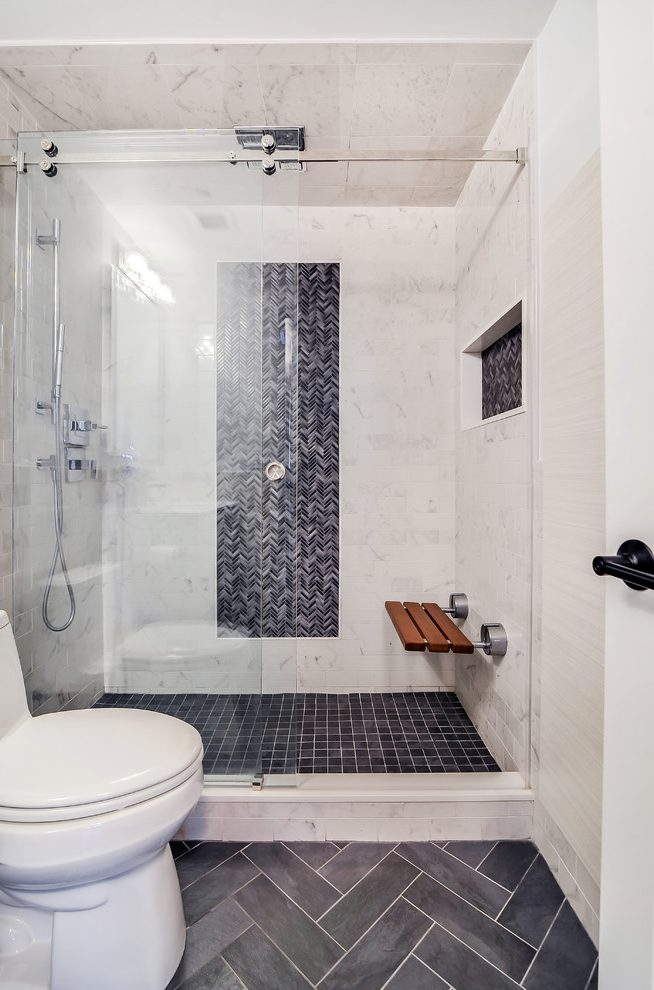 GoodLooking Tiled Showers Pictures Bathroom Transitional