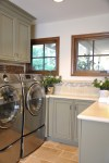 Magnificent Current Decorating Color Laundry Room Traditional with Tantrum Tile Trim Cabinet