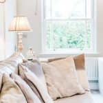 cambridgeshire shabby chic living with window treatment professionals room shabby-chic style and blinds