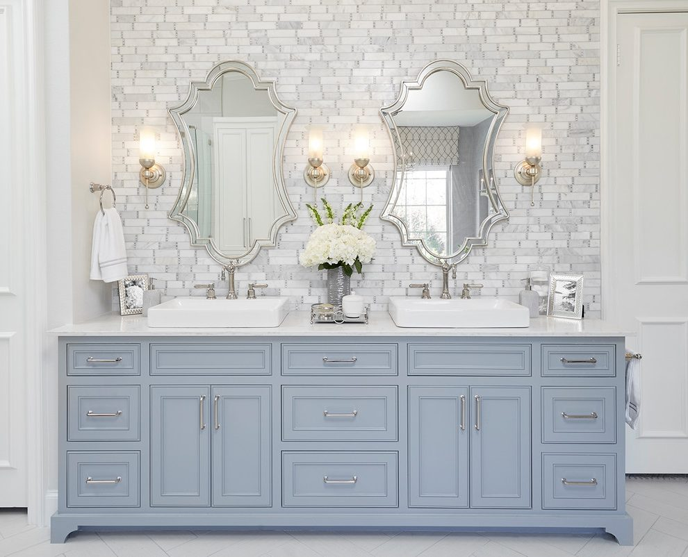 dallas mosaic bathroom mirrors traditional with hand towel