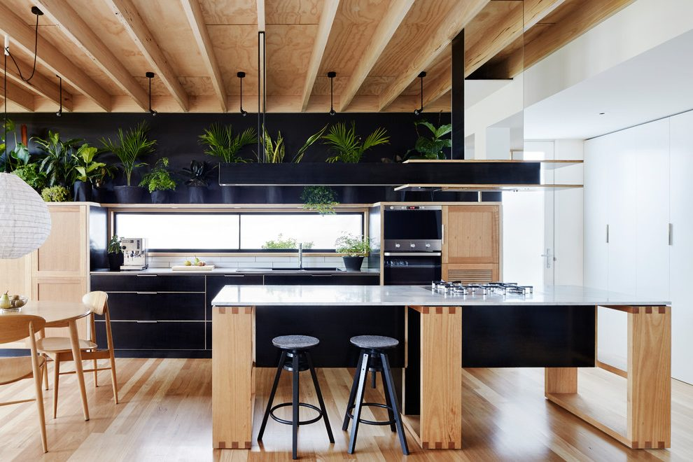 Outstanding Marble Floor Designs Kitchen Contemporary With Timber Joinery X3 Ideas