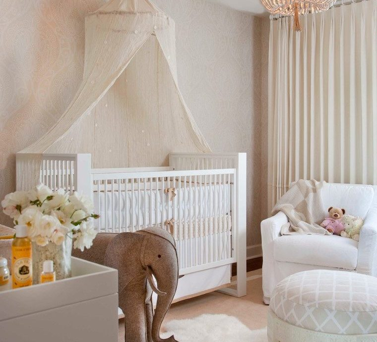 san diego girls white daybed with silver chandeliers nursery transitional and baby room crib