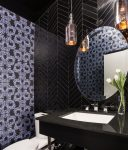 Splendid Wainscoting Bathroom Ideas Contemporary with Middle Eastern