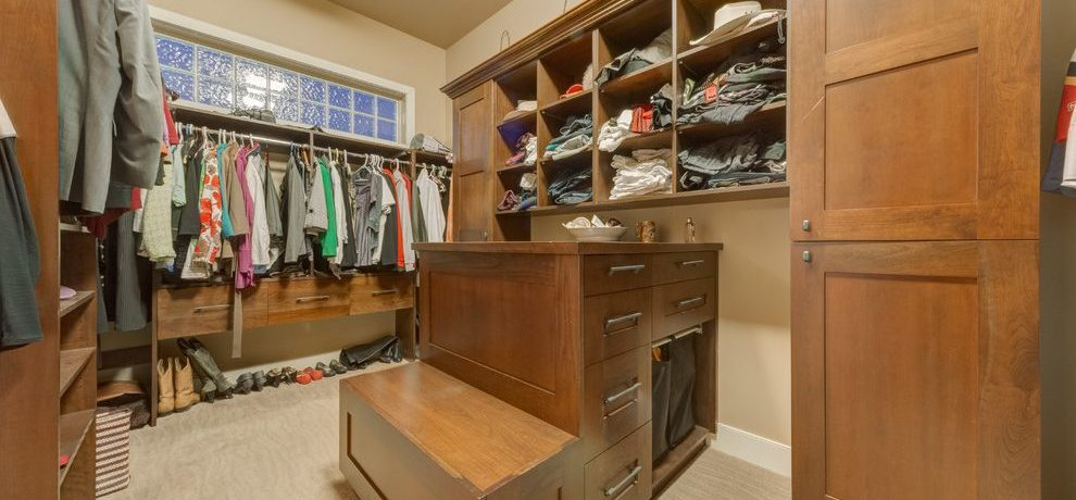 calgary closet island furniture with traditional storage cabinets and walk-in clothing