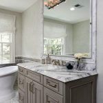 dc metro marble shower bench with interior designers and decorators bathroom transitional chrome fixtures frameless glass