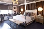 Beautiful Ikea Hemnes Queen Bedroom Transitional with Tufted Headboard Curtain Ideas