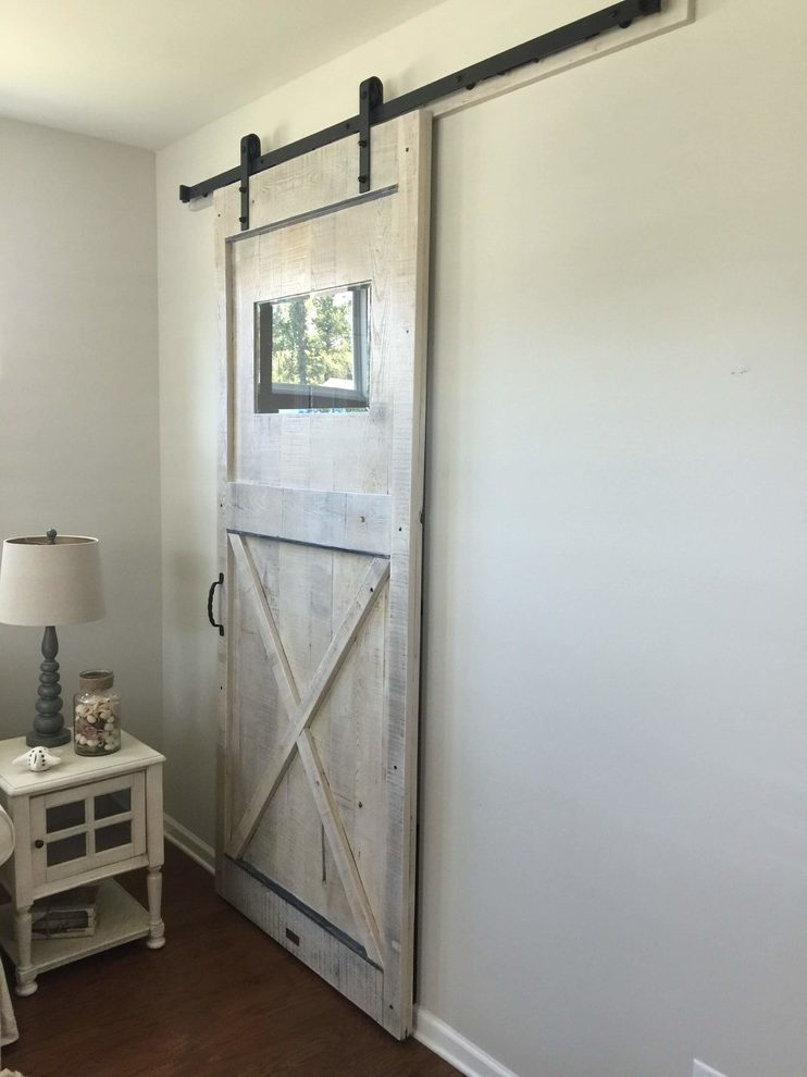 Outstanding Interior Barn Door Home Office Rustic with Custom Sliding Pocket Doors Ideas
