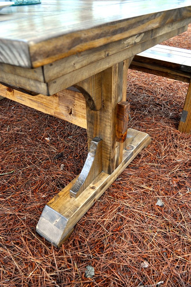 rustic pine wooden coffee tables thick wood