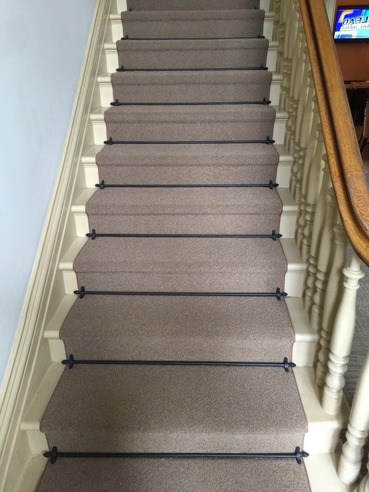 San Francisco Dixie Home Carpet Staircase Traditional With | Carpet Tiles For Stairs | 18 Inch | Interior | Contemporary | Children's | Tile Stair Treads