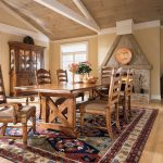 san francisco rustic buffet table with farmhouse dining armchairs room southwestern and famhouse