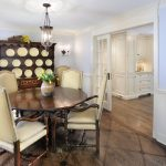 french style dining room with kitchen and bathroom remodelers