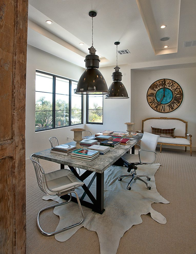 Austin interior decorating tips Home Office Transitional with home stagers professional office ideas