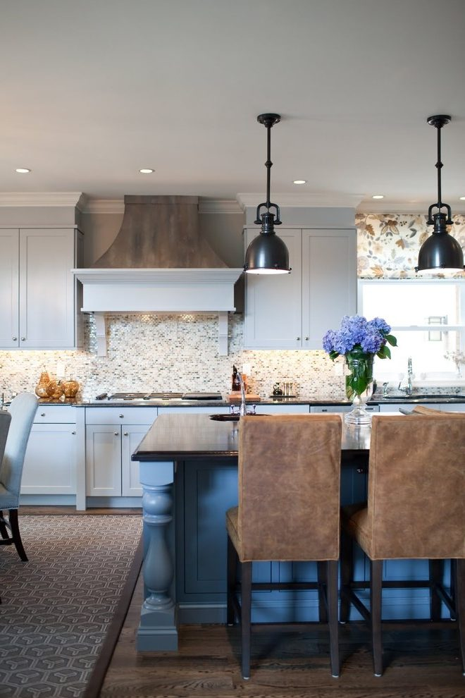 Baltimore black shaker kitchen cabinets Kitchen Transitional with and bathroom designers metallic paint